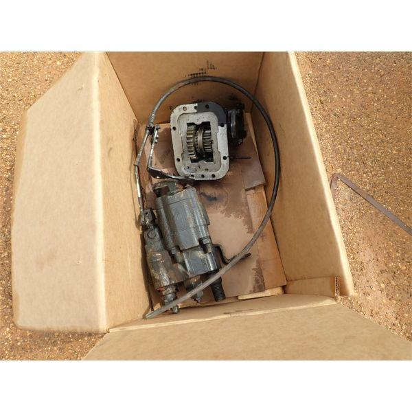 hydraulic drive pump 9 for a dump truck