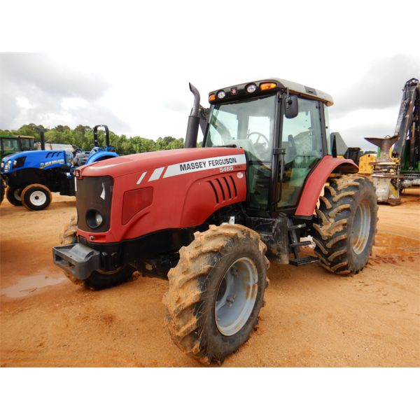 2008 MASSEY FERGUSON 5465 Farm Tractor