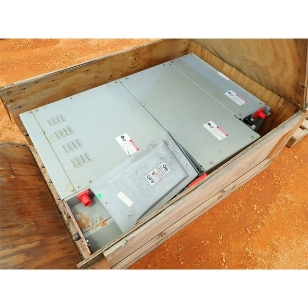 (2) ELECTRICAL CONTROL BOXES