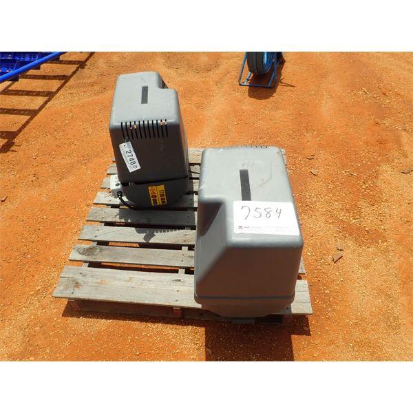 (2) ATLAS  ELECTRICAL  Air Compressor
