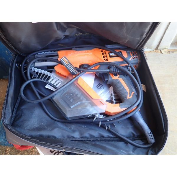 RIDGID COLLATED SCREWDRIVER, WIRELESS (IN CONTAINER)