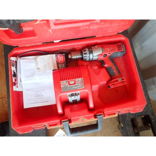 MILWAUKEE DRILL (IN CONTAINER)