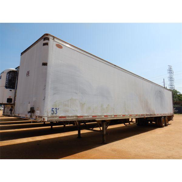 2000 DORSEY AIDTLS Dry Van Trailer