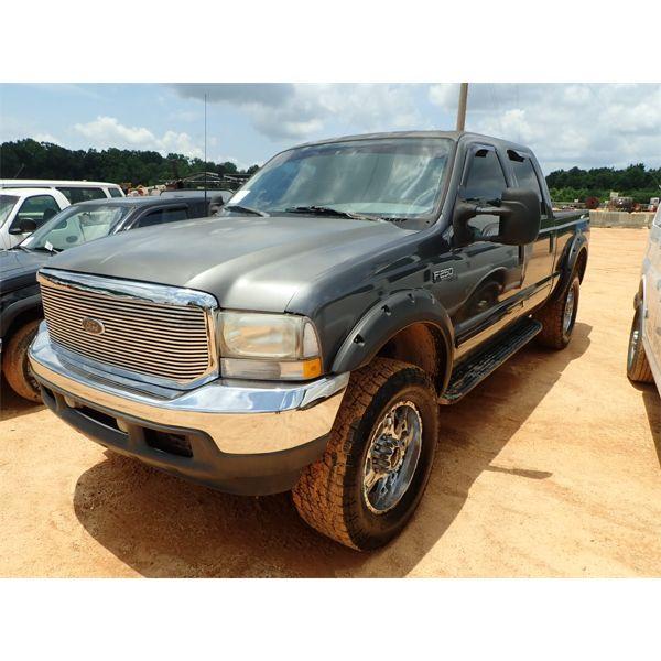 2002 FORD F250 XLT Pickup Truck