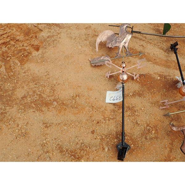Copper Rooster Wind Vane (C-6)