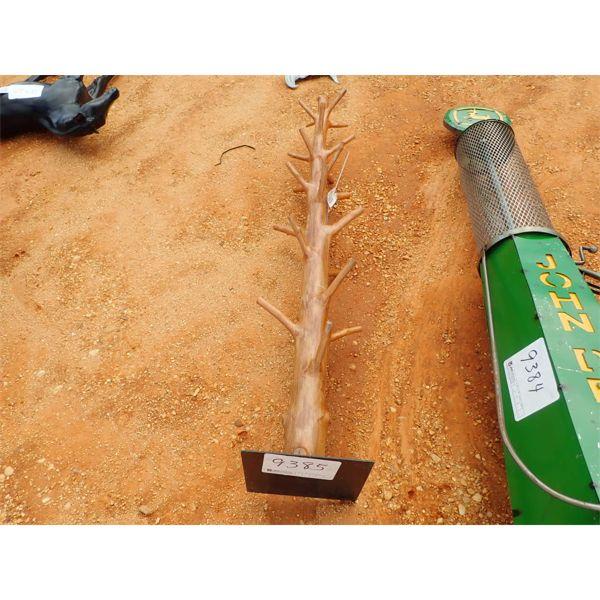 teakwood bottle pole (C-6)
