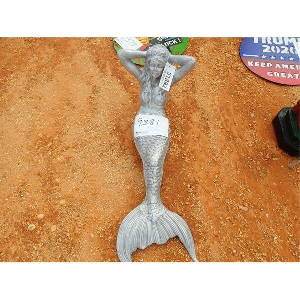 aluminum mermaid (C-6)