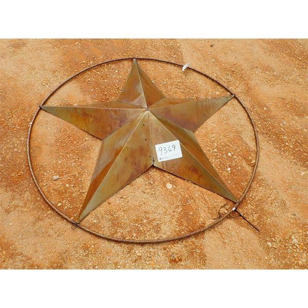 6' metal star (C-6)
