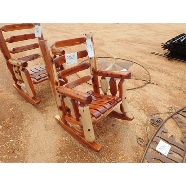 Red cedar rocking chair (C-6)