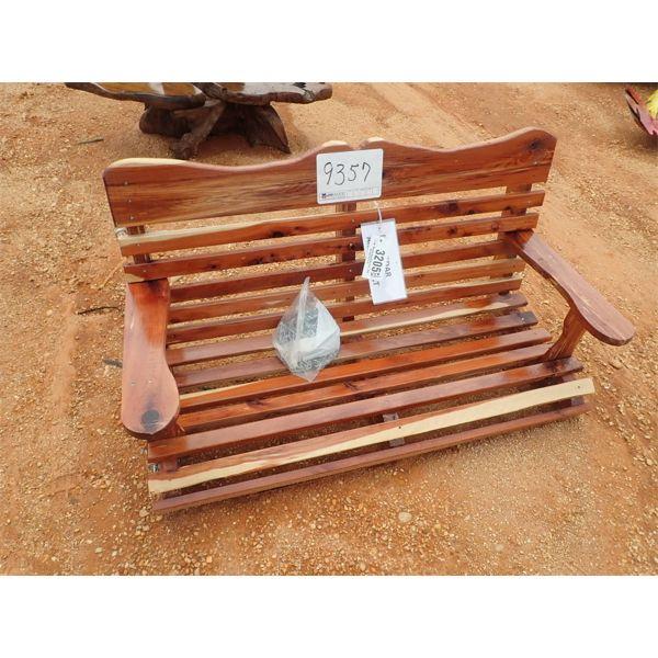 4' Red Cedar swing (C-6)