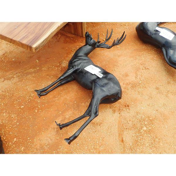 aluminum buck deer (C-6)