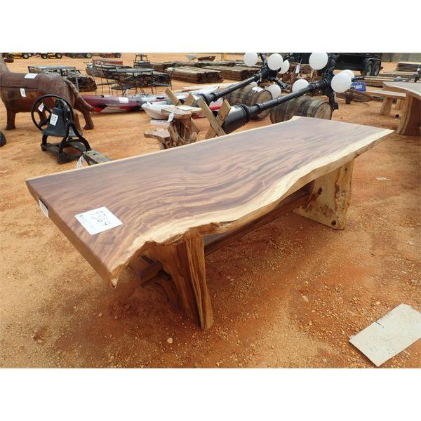 8 1/2' Teakwood table (C-6)