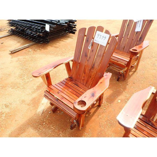 Red Cedar glider chair (C-6)