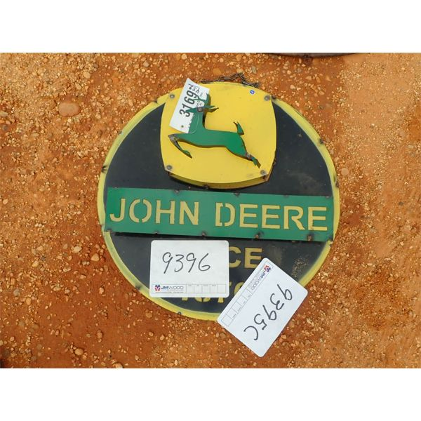John Deere metal sign (C-6)
