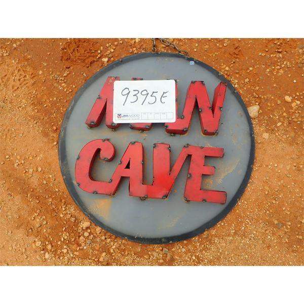 Man Cave metal sign (C-6)