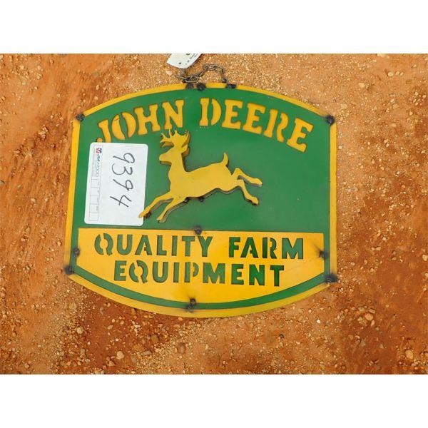 John Deere Equipment metal sign (C-6)