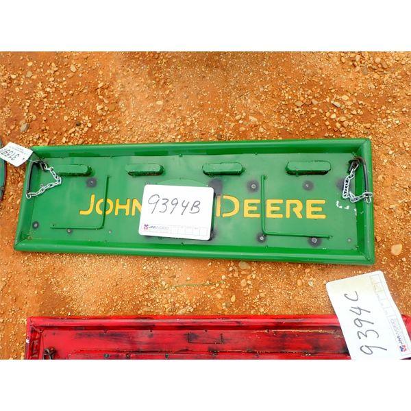 John Deere metal tailgate (C-6)