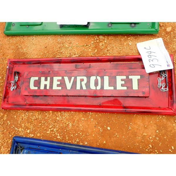 Chevrolet metal tailgate (C-6)