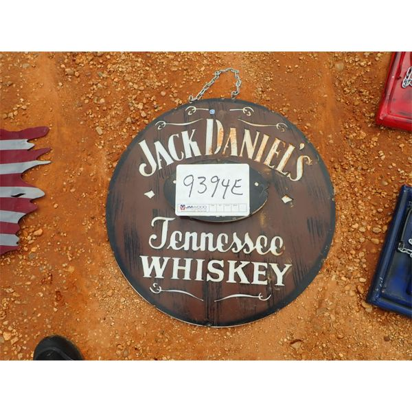 Jack Daniels metal sign (C-6)