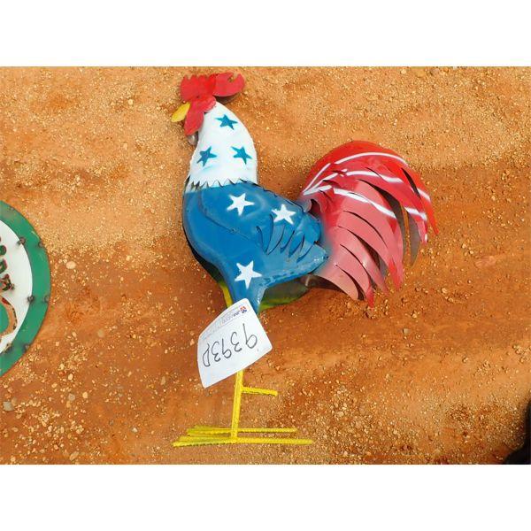 metal rooster (C-6)