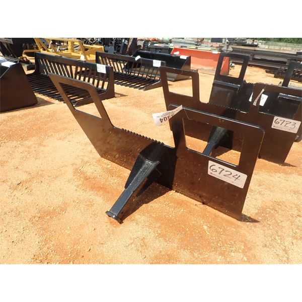 RECEIVER HITCH ATTACHMENT, FITS SKID STEER LOADER (B5)