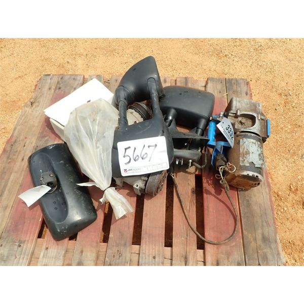 MISC ITEMS, SIDE MIRRORS, ELEC WINCH
