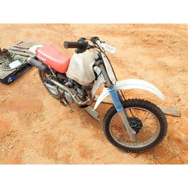 1993 HONDA XR80R MOTORCYCLE DIRT BIKE