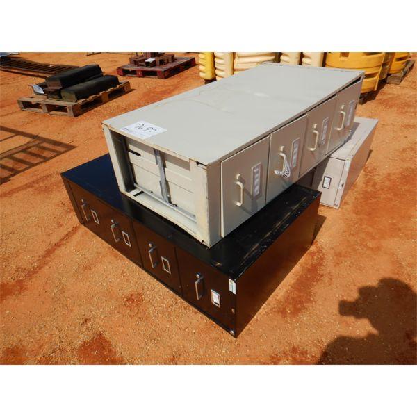(3) 4 DRAWER FILE CABINET (B-9)