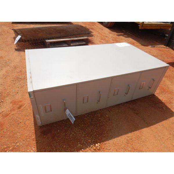 4 DRAWER FILE CABINET (B-9)