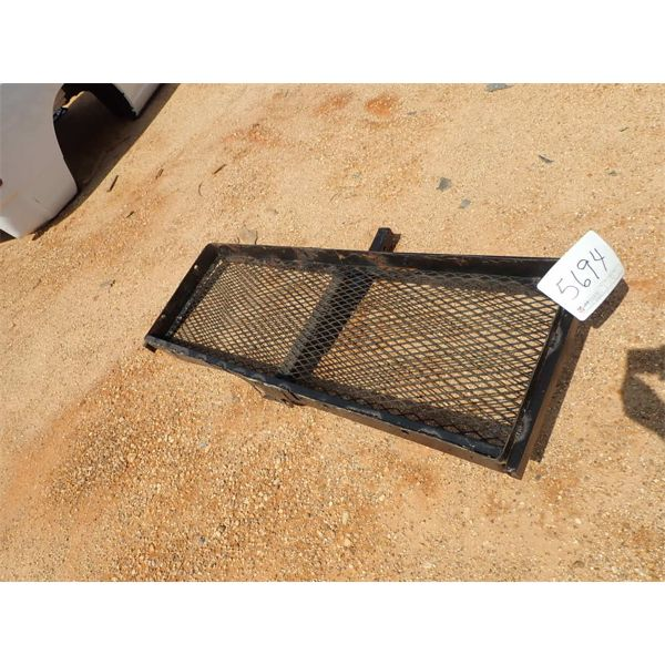 """60"""" CARGO CARRIER, fits 2"""" trailer hitch receiver (A-1)"""