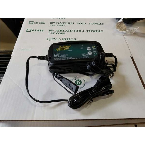 As new Deltran 4.5 amp battery charger and maintainer