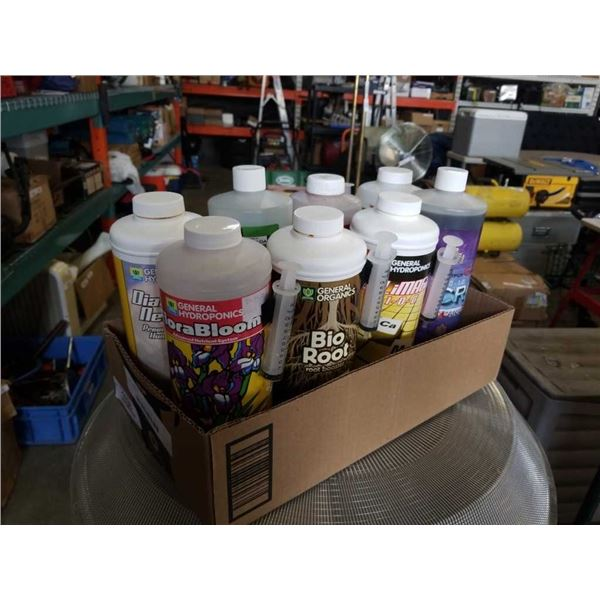 Box of general hydroponics plant food