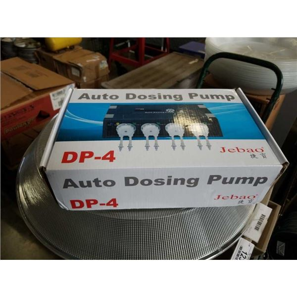 New auto dosing pump