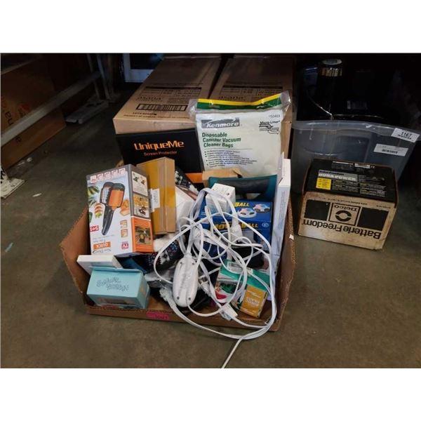 Box of new amazon overstock items
