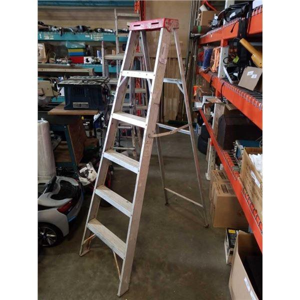 6ft a frame aluminum ladder