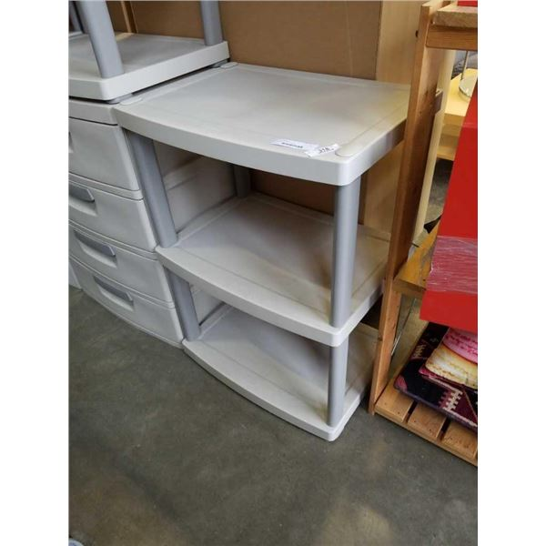 STERILITE 3 TIER SHELF