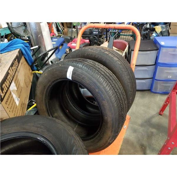 PAIR OF MICHELIN 215/55R16 TIRES