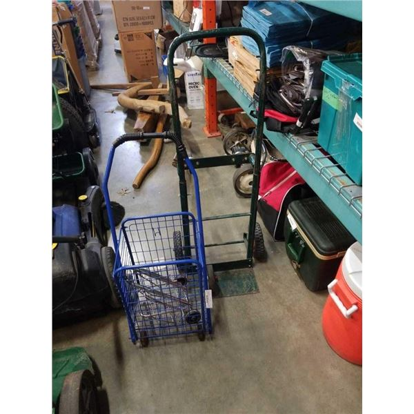 2 WHEEL DOLLY AND PERSONAL SHOPPING CARTS
