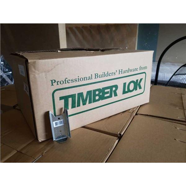 BOX OF TIMBER LOK 2x4 HANGERS - 300 PIECES