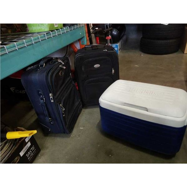 Luggage and cooler