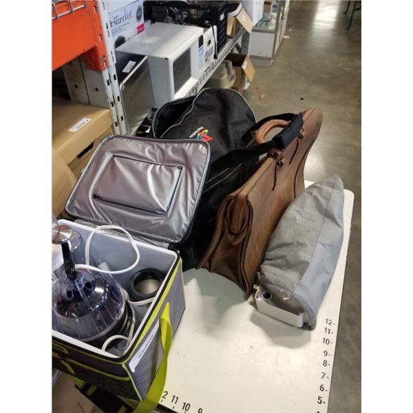 SHOWER KNOB ASSEMBLY, KITCHEN APPLIANCES, PLAYSTATION BAG, LEATHER BAG