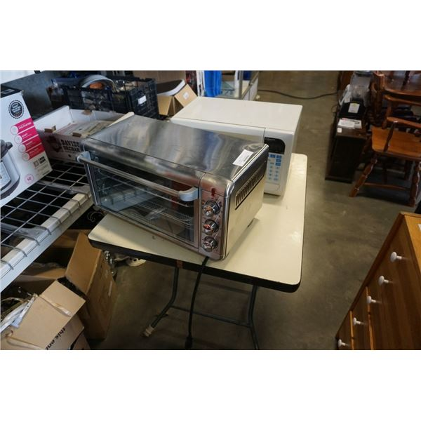 Black and decker toaster oven working