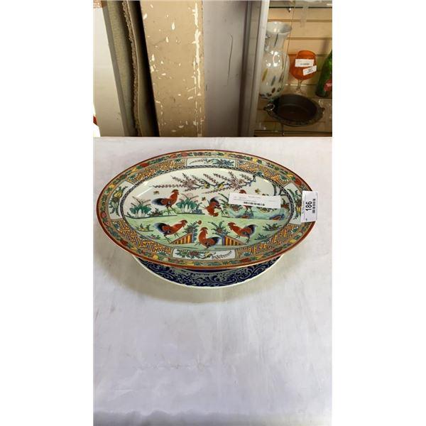 Delft platter and eastern platter