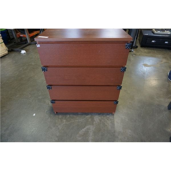 4 DRAWER IKEA CHEST OF DRAWERS