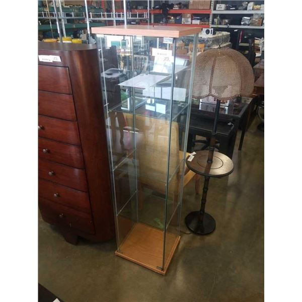 5.5FT GLASS DISPLAY CABINET