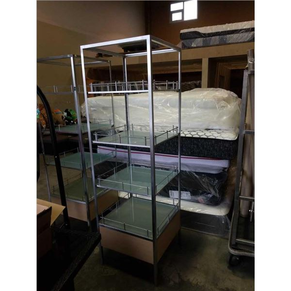 4 tier 6 and 1/2 foot retail display Shelf