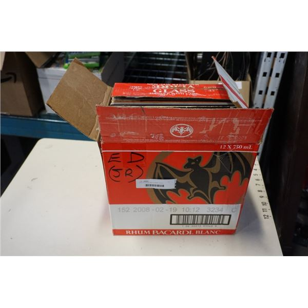 BOX OF ROCK AND CLASSIC ROCK RECORDS AND DRUM CYMBAL STAND