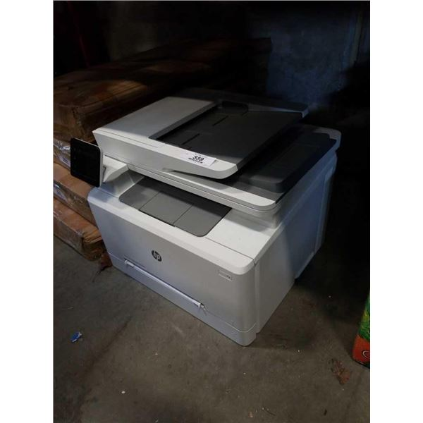 HP COLOR LASER JET PRO ALL IN ONE PRINTER MFP M283fdw