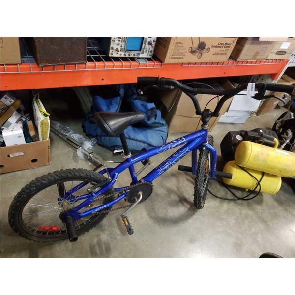 BLUE LEAP BMX BIKE