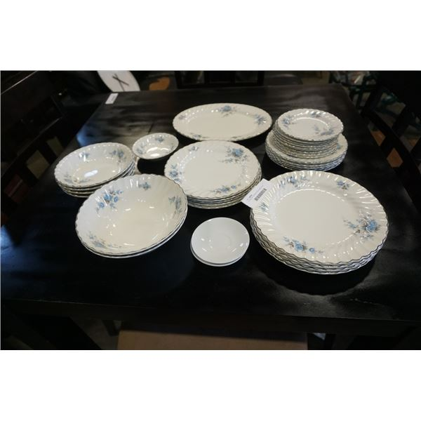 31 PIECES JOHNSON BROS IRONSTONE DISHES